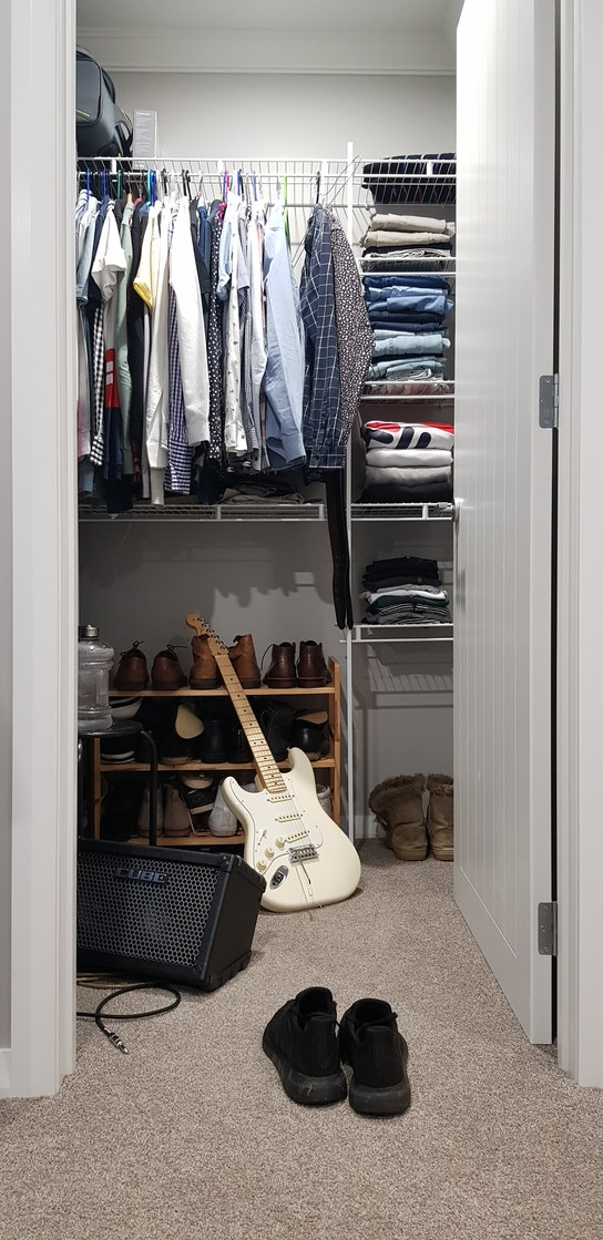 organizing your apartment closet